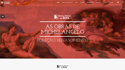 Layout Museu Virtual de Arte