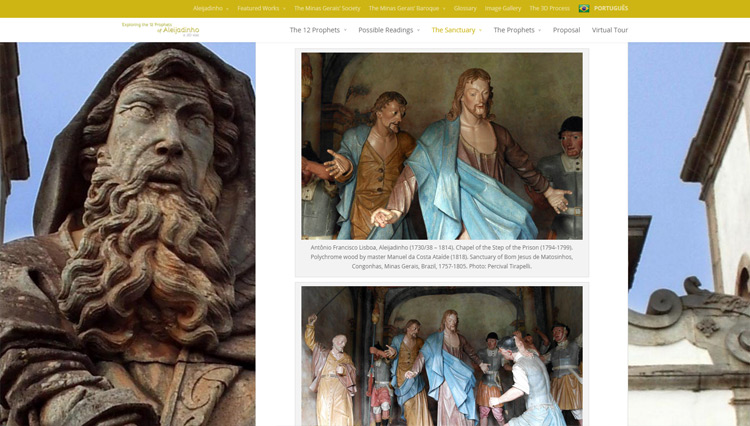 Exploring the 12 Prophets of Aleijadinho: a 3D visit